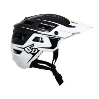 ATB-1T EVO Trail Helmet - Black/White