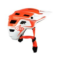 ATB-1T EVO Trail Helmet - Orange/White