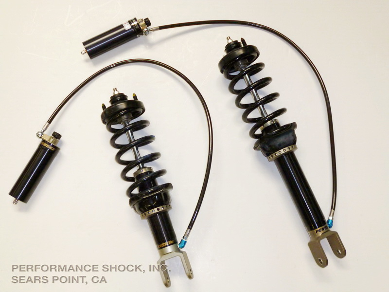 Penske Racing Honda S2000 B-Stock/T3 Damper Kit - 2-way (Remote)