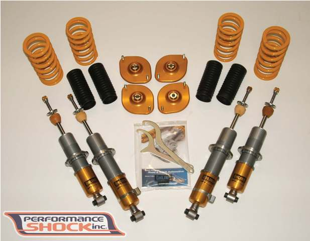 Ohlins Road & Track coilover suspension - Mazda Miata (NA & NB)