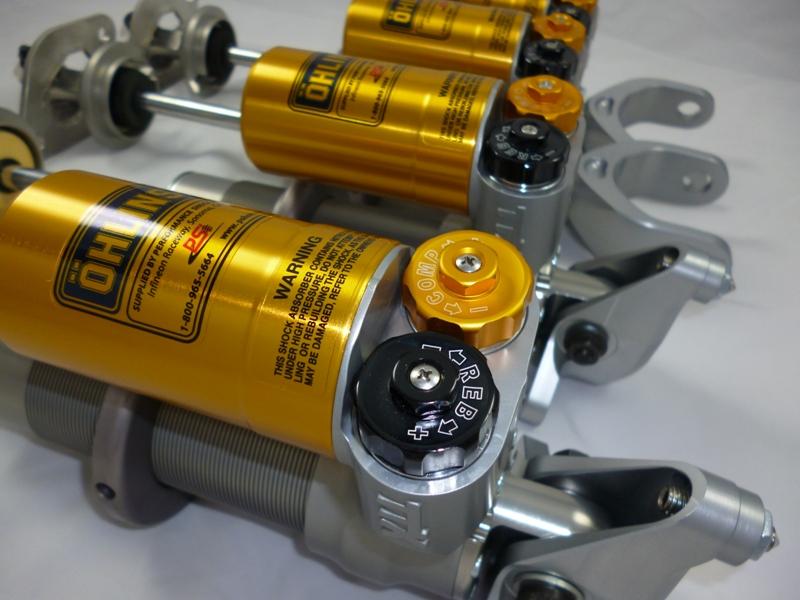 PSi 'Raceline' Ohlins based suspension system for the C5/6/Z06