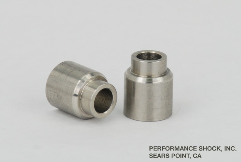 14mm to 10mm (17.5mm flange/shoulder) rod end reducer bushings